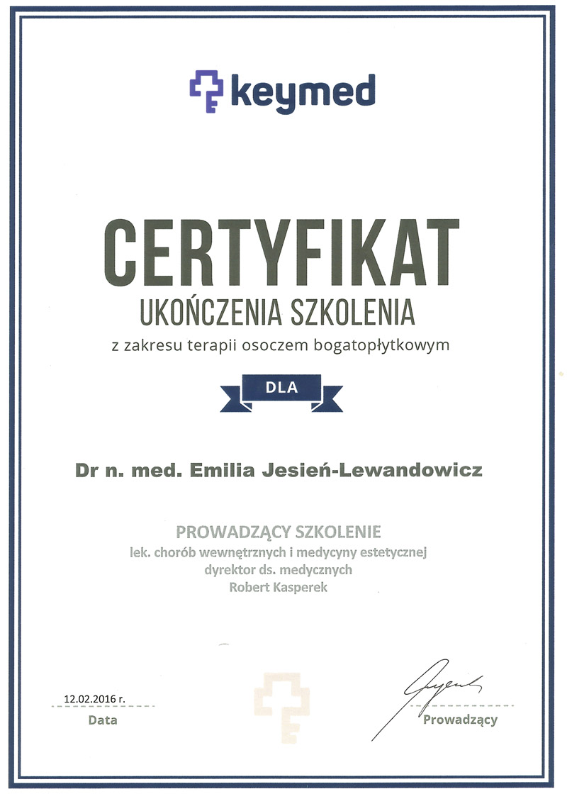 Obrazek dr n. med. Emilia Jesień-Lewandowicz